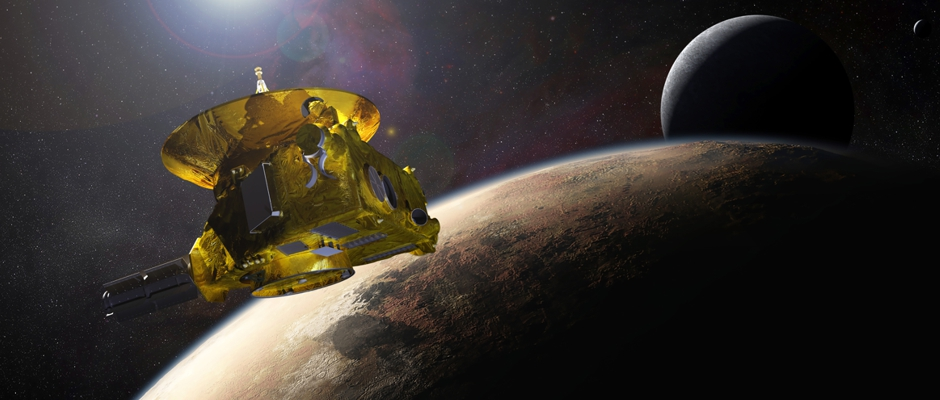 Robotic Exploration and A Dash by Pluto: What we've learned in the last few months