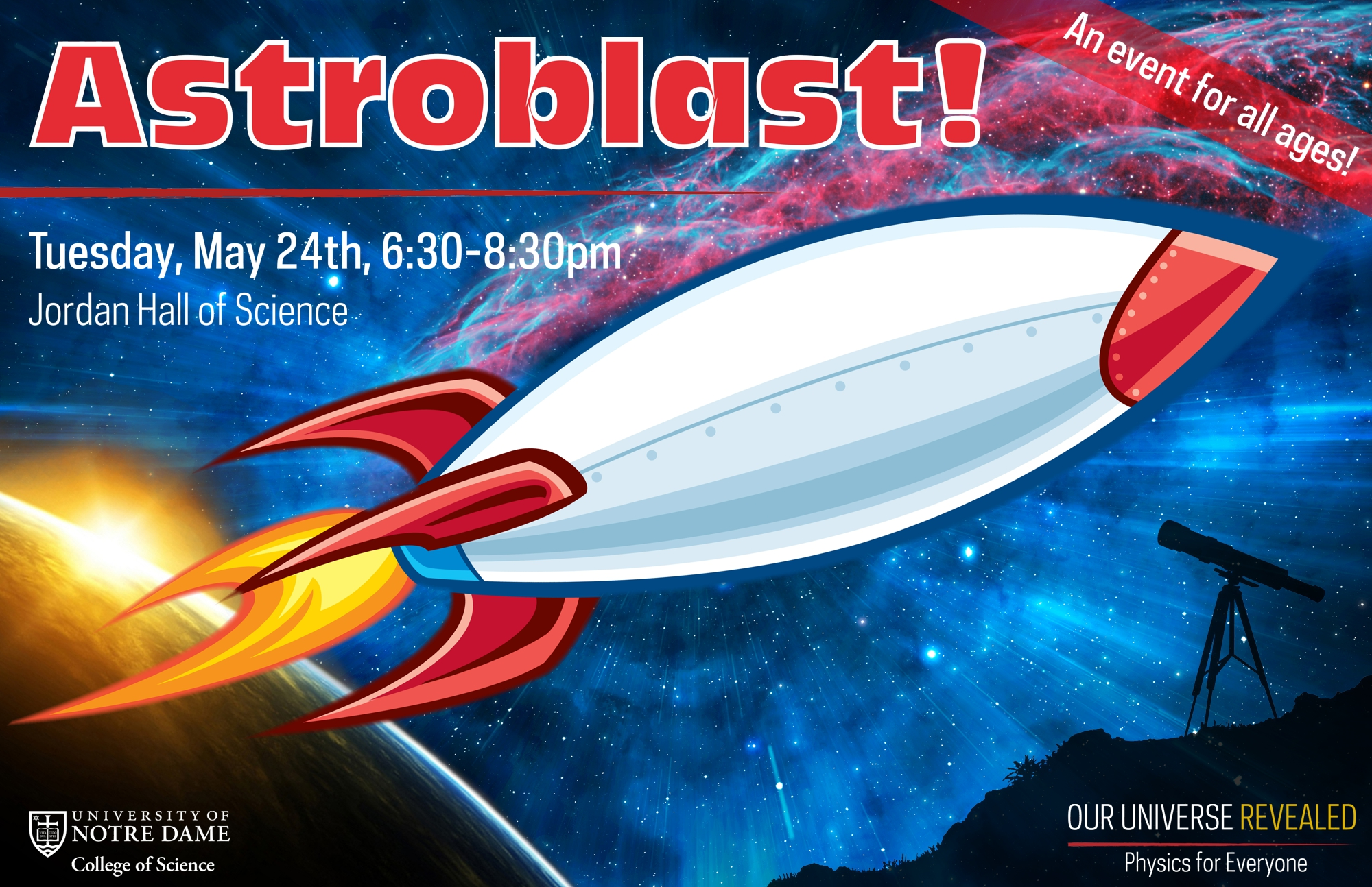 Astroblast! - A free, family friendly event